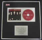 BOYZONE - CD single Award - A DIFFERENT BEAT